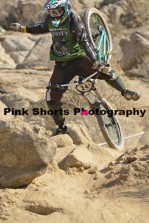 February 23, 2014 - KMC Fontana Downhill Practice and Race